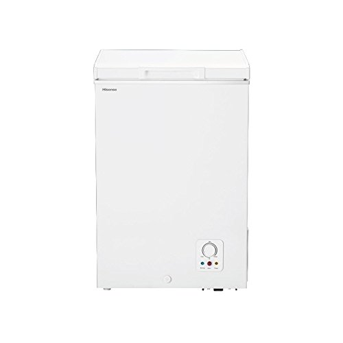Hisense FT130D4AW1 Independiente Vertical 98L A+ Blanco - Congelador (Vertical, 98 L,...