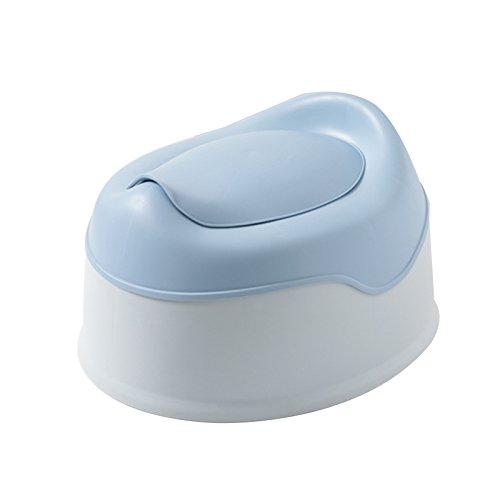 Children's toilet Enfants Toilette- Enfants Toilette Bébé Enfant Enfant Siège Enfant 1-3-6 Ans Mâle Bleu PP Potty Urine