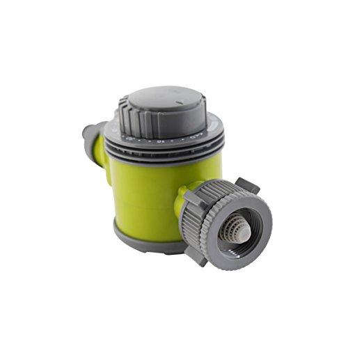 Xclou mechanische Bewässerungsuhr 346118, Zeitschaltuhr passend für alle gängigen Stecksysteme, Bewässerungstimer aus hochwertigem Kunststoff, Sprenkleruhr bewässert bis zu 120 min, der Gartenchronograph lässt sich auf Dauerbewässerung einstellen, die Maße der Wasseruhr betragen ca. 14 x 8 x 6 cm (Zeit Automatische Einstellen Der Uhr)