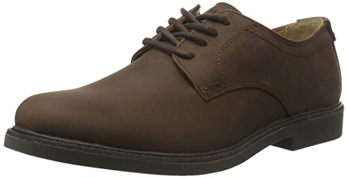Sebago Turner Lace Up Wp, Chaussures à Lacets Homme Marron (Dk Brown Leather WP)