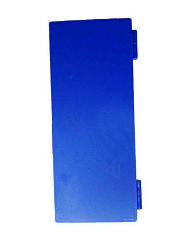 Aufbewahrungsbox mit 50 Steckplätzen für Glas-Objektträger, blau, 1 - Abdeckungen Mit Objektträger