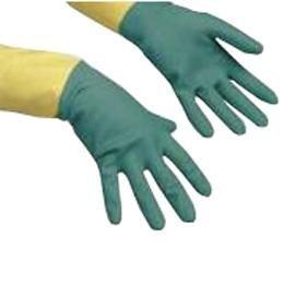 Vileda 120268Gartenhandschuhe Baumwolle, Latex grün, gelb 1Stück (die) Schutzhandschuh