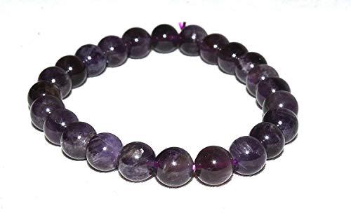 Tibettian Heart - Amethyst Stone Bracelet - Big Size - 1 Piece