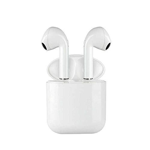 DOJA Barcelona | Auriculares Bluetooth 5.0 inalambricos i9 Mini Plus | Cascos de máxima Potencia y Calidad de Sonido | BATERIA 3H | Carga portatil | Compatible con Todos LOS Dispositivos