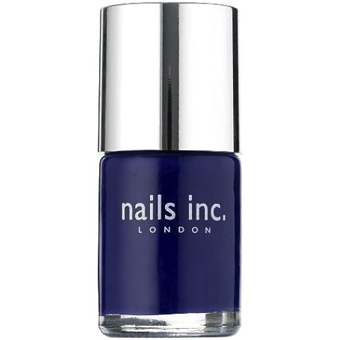 Nails Inc Belgrave Place color violeta oscuro esmalte de uñas 10 ml