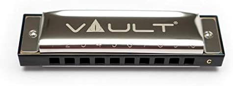 Vault HA1000 Key C 10-Hole Beginner Harmonica