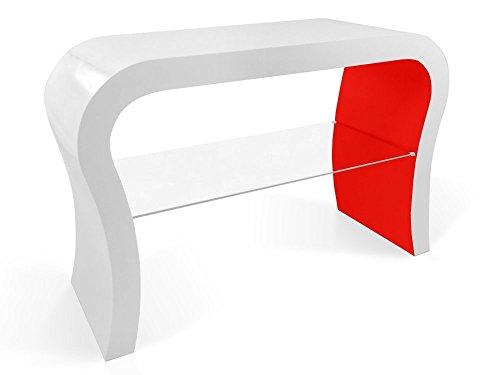 Zespoke Design Retro TV Conception de Meuble Étagère en Verre de Différentes Couleurs