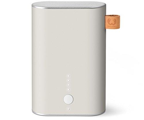 Fresh 'n Rebel 9.000 mAh - Powerbank (inkl. Micro-USB-Kabel und Handbuch - mit mehrfachen Sicherheitsfunktionen - Ladestatusanzeige) Weiß -