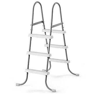 INTEX 28064 Escalerilla de Seguridad para Piscinas de 91cm de Altura