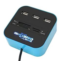 Unique Gadget Card Reader All In One + Usb Hub 3 Port 2.0