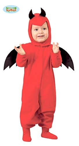 Baby Teufel - Kostüm für Kinder Gr. 86 - 98, - Kleiner Teufel Kostüm Kinder