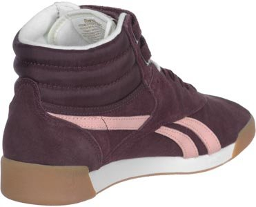 Reebok F/S Hi Suede II Damen Schuhe Rot Rot (Rot-Rosa)