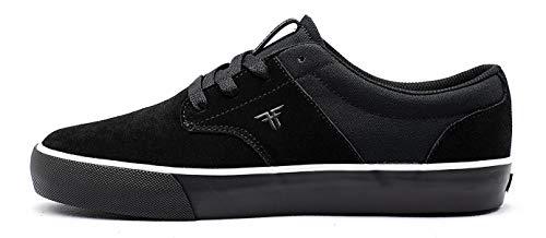 Fallen Phoenix. Zapatilla de Skate Hombre 43 EU, Black/White/Black