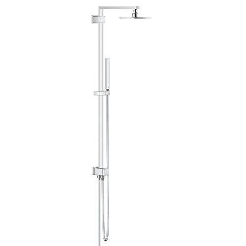 GROHE Euphoria Cube | Brause und Duschsysteme - Duschssystem | 150mm mit Umstellung , eckige Kopfbrause | 27696000