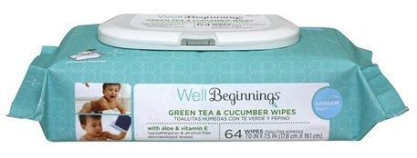 well-beginnings-green-tea-cucumber-baby-wipes-64-ct