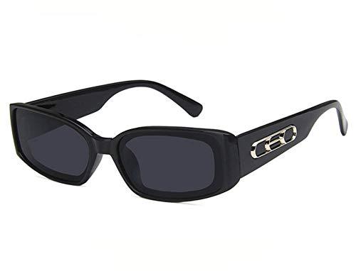 Tiners Trend Sonnenbrillen Retro Square Wide Leg Hip Hop Sonnenbrillen