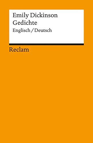 Gedichte: Engl. /Dt. (Reclams Universal-Bibliothek)
