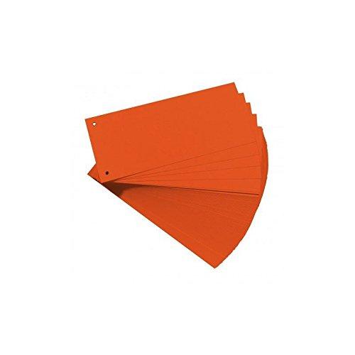 Trennstreifen 10,5x24cm orange 180g Manilakarton 200St