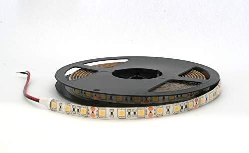 Rouleau 5 mètres bande 300 LED 5050 SMD Neutral White 5 mt lumière blanc naturel pour utilisation extérieur étanche iP65 imperméable
