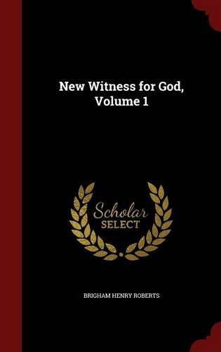 New Witness for God, Volume 1