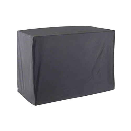 GREEN CLUB Housse De Protection pour Chariot plancha Haute Qualité Polyester L 120 x l 60 x h 90 cm Couleur Anthracite