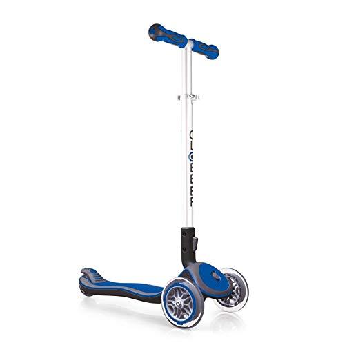 Globber My Free Fold Up S, 3-Wheels bi-Inject Patinete Elite, Unisex, Navy Blue, Talla única