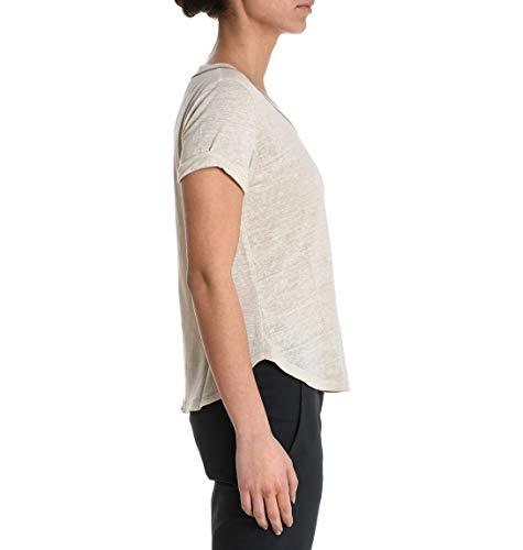Brunello Cucinelli T-Shirt Donna MF950B8402C2350 Lino Beige