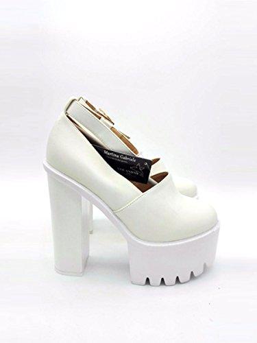 Nude Diana Ivory White, 36, Ivory White - Scarpe con tacco - Martina Gabriele shoes