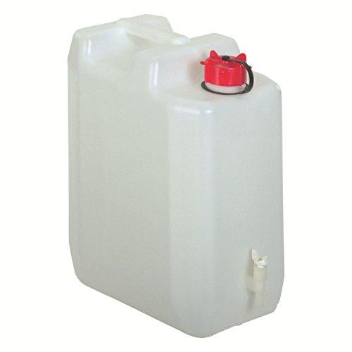 MyGarden 010987 Bid&Oacuten Agua con Grifo 35 litros, Deportes y Aire Libre, Blanco y Verde, 45x35x22 cm