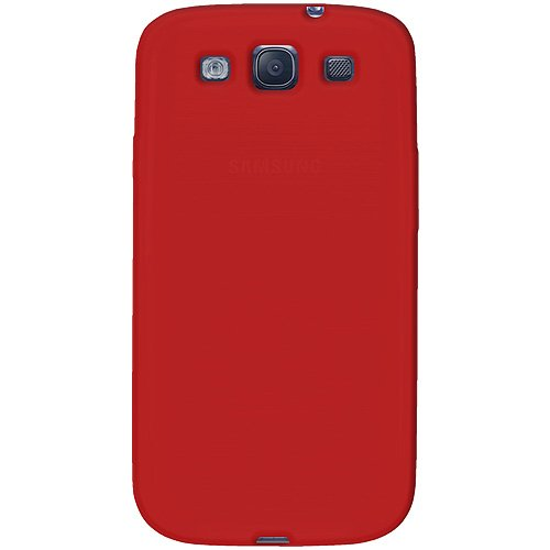 Amzer AMZ93955 Skin Jelly Case for Samsung Galaxy S3 Neo and S III GT-I9300 (Red)  available at amazon for Rs.224