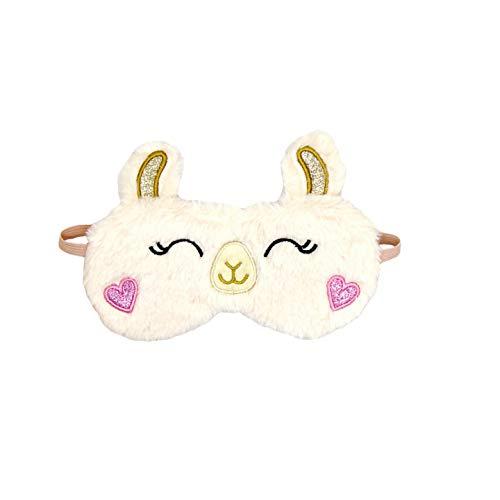 dressfan Nette Schlafmaske Alpaca Alpaka Schlafmaske Schlafmaske Alpacatier Schlafmaske Tier Augenmaske Süße Augenmaske Süße Augenmaske Plüsch Schlafmaske Plüsch Augenmaske