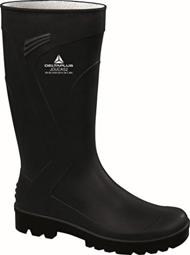 Delta plus botas - Bota trabajo joucas pvc negro talla 41