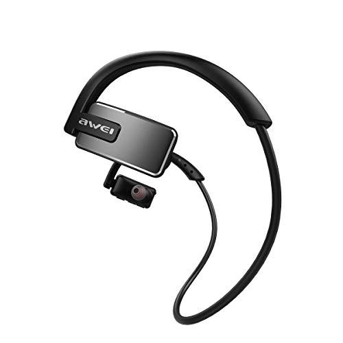 Jiffa Bomu Awei A883BL Kabellose Kopfhörer IPX4 Wasserdicht Sport Outdoor Kopfhörer