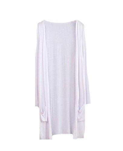 VITryst Women Ankle Length Split Cozy Sun Protection Cotton Cardigan