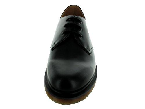 Dr Martens 1461 Pw Smooth, Chaussures de ville mixte adulte Black