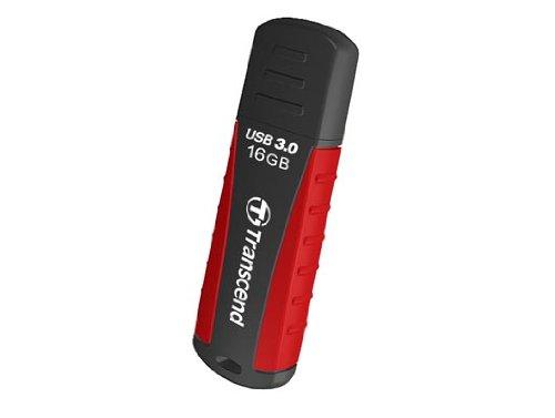 Transcend TS16GJF810 JetFlash USB 3.0 16GB Speicherstick schwarz/rot
