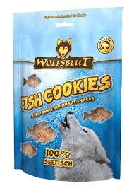 """4 x 150g Wolfsblut Fish Cookies """"Seefisch"""""""