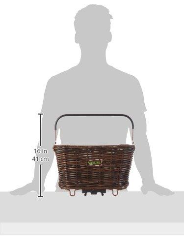 Racktime Weidenkorb BaskIt Willow 20 Liter Maße 21,5 x 41,5 x 30 cm braun