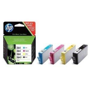 HP CZ676EE#301 Pack de 4 Cartouches d'encres- Cyan, Magenta, Jaune et Noir