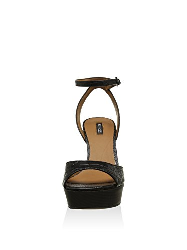 Guess FLD032PEL03 Sandalo Donna Nero