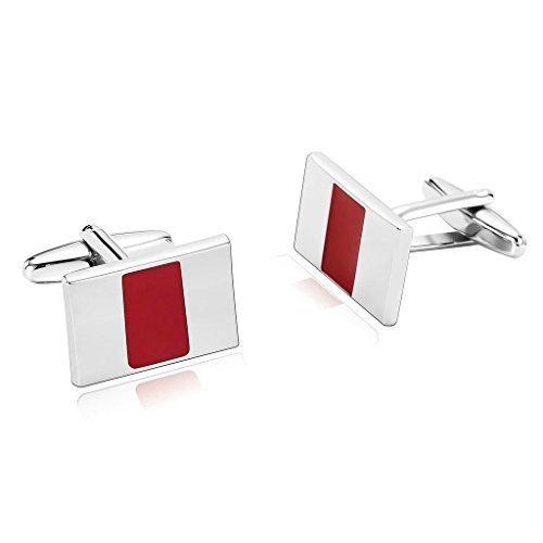 amdxd-jewelry-stainless-steel-men-cufflinks-silver-red-special-desgin-rectangle-cuff-links