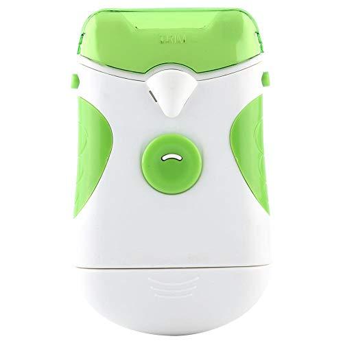 Trimmer elettrico per unghie, Tagliaunghie elettrico in plastica in verde e bianco