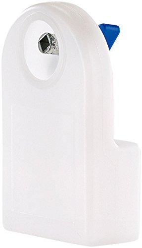 AGT NX-9070 Heizkörper-Entlüfter mit integriertem Wasserbehälter, 80 ml (Heizkörperentlüfter manuell), weiß