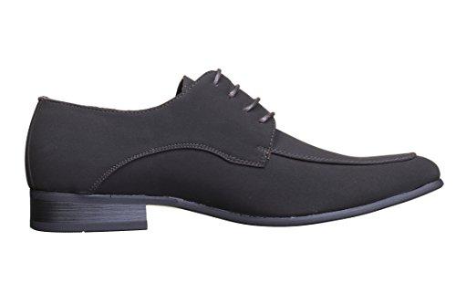 Galax - Chaussure Derbie Gh1204 M Black Lamy Brown Noir