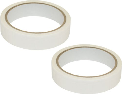 set-of-2-20mm-x-10m-white-adhesive-waterproof-repair-duck-duct-new-gaffa-gaffer-cloth-tape