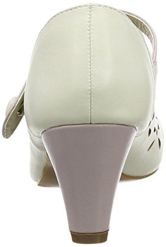 Joe Browns Fit For The Occasion Shoes, Escarpins femme Blanc cassé (crème)