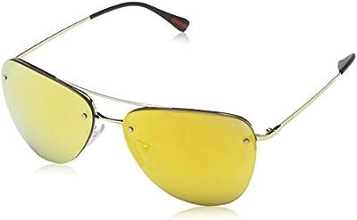 Prada Gafas de Sol Mod. 53RS ZVN5N057 (57 mm) Dorado