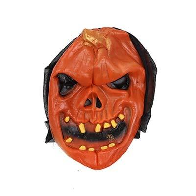 WSJDE Halloween Kürbis Schädel Maske Horror Scary Maske Full Face Party Maske Für Erwachsene Realistische Weiblich Männlich Masken MaskeradeRotten Tooth