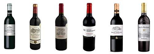 Bordeaux Wein Probierpaket mit Goldmedaille (6 x 0.75 l)