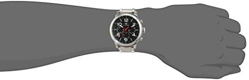 dc68bf18cec0 Tommy Hilfiger 1791234 - Reloj análogico de cuarzo con correa de acero  inoxidable para hombre